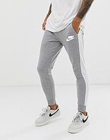 Спортивные штаны в стиле Найк, Nike, серые