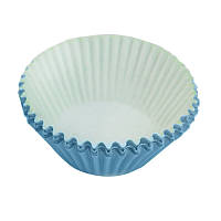 Формы для кексов, большие, голубые