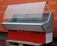 Холодильная витрина гастрономическая «МариХолМаш Нова» 1.5 м. (Россия), LED – подсветка, Б/у