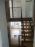 """Перила сварные с диагональными линиями в стиле """"лофт"""", """"минимализм""""., фото 3"""