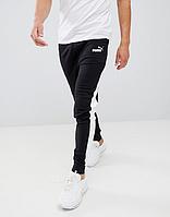 Спортивные штаны в стиле Пума, Puma, черные