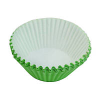 Формы для кексов, большие, зеленые