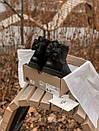 Женские черные угги UGG с бантом, фото 3