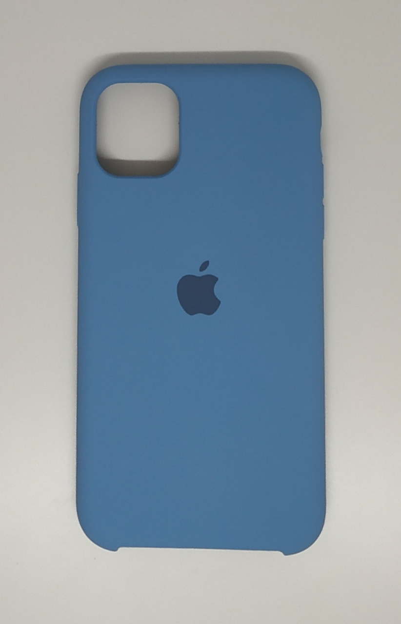 """Чохол Silicon iPhone 11 - """"Волошковий №53"""""""
