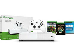 Microsoft Xbox ONE  S 1TB All-Digital edition+Minecraft+Sea of The Theaves+Fortnite