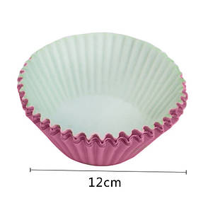 Формы для кексов, большие, розовые, фото 2