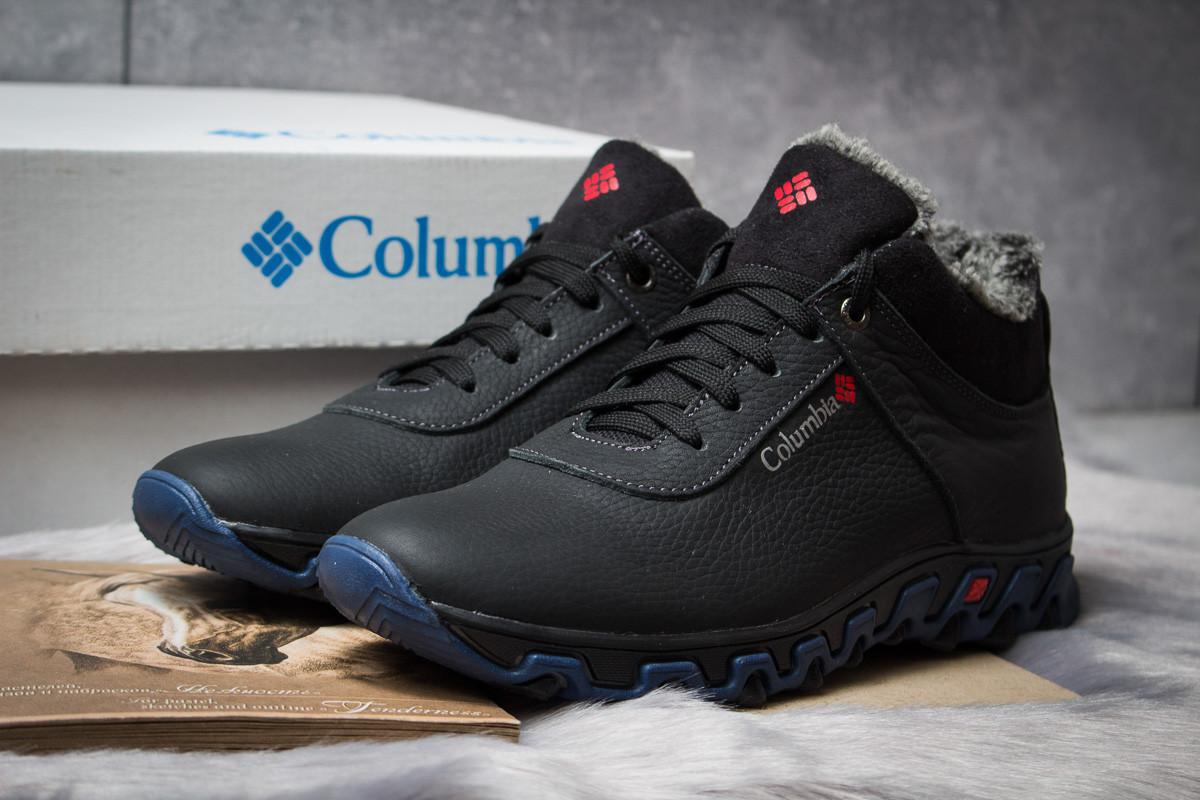 Зимние мужские ботинки 30694, Columbia Track II, черные , ( в наличии 40 42 43 )