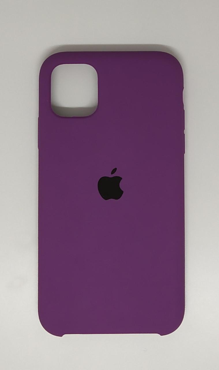 "Чехол Silicon iPhone 11 - ""Пурпурный №45"""