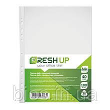 Папка - файл пластикова А4+ глянець 40мкм (за 100 шт.)