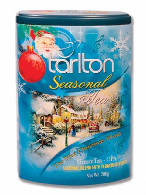 Чай новогодний Тарлтон Сияющее Рождество с ароматом лесных ягод черный 200 г в музыкальной банке