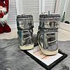 """Сапоги луноходы женские """"California"""" серебро эко лак+ сахарная блестящая крошка //, фото 10"""