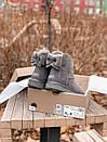 Женские серые угги UGG натуральная замша, фото 5