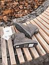 Женские серые угги UGG натуральная замша, фото 8
