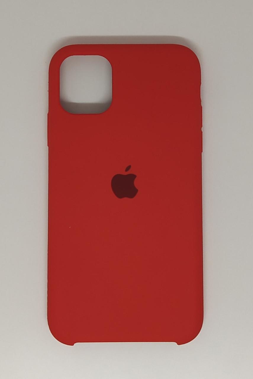 "Чехол Silicon iPhone 11 - ""Темно-терракотовый №14"""