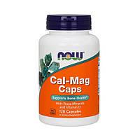 NOW Cal-Mag Caps (120 капс) нау кальций магний