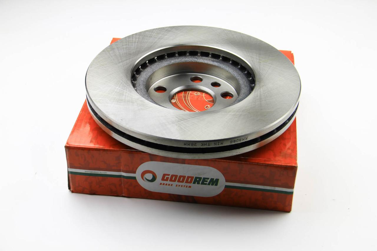 Тормозной диск передний Citroen Jumpy 2004- (285x28) (вент.) GOODREM