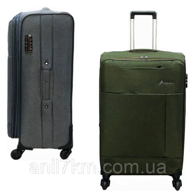 Середній чотириколісний валізу