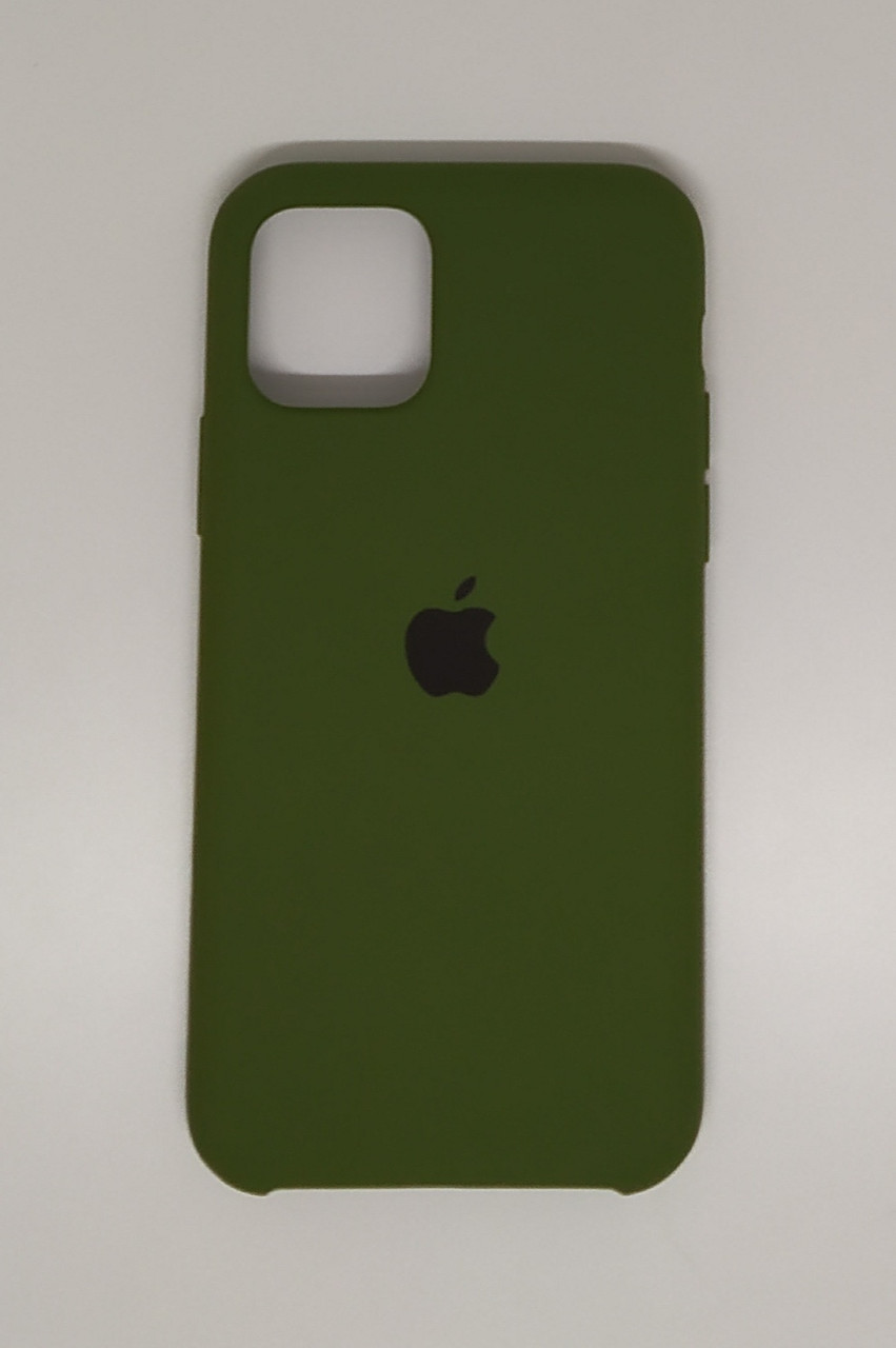 """Чехол Silicon iPhone 11 - """"Хаки №48"""""""