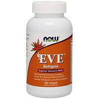 Витамины для женщин Now Foods EVE (180 капс) нау фудс ева