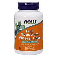 Минеральный комплекс NOW Full Spectrum Minerals (120 капс) нау спектрум