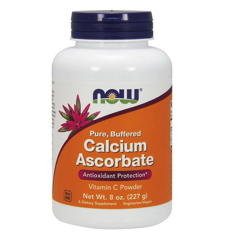 Кальций аскорбат Now Foods Calcium Ascorbate (Vitamin C)  (227 г) нау фудс