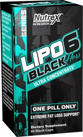 Жиросжигатель Nutrex Research - Lipo-6 Black Hers Ultra Concentrate (60 капсул)