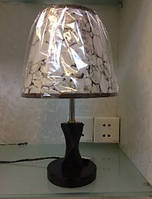 Лампа настольная 6016 с абажуром