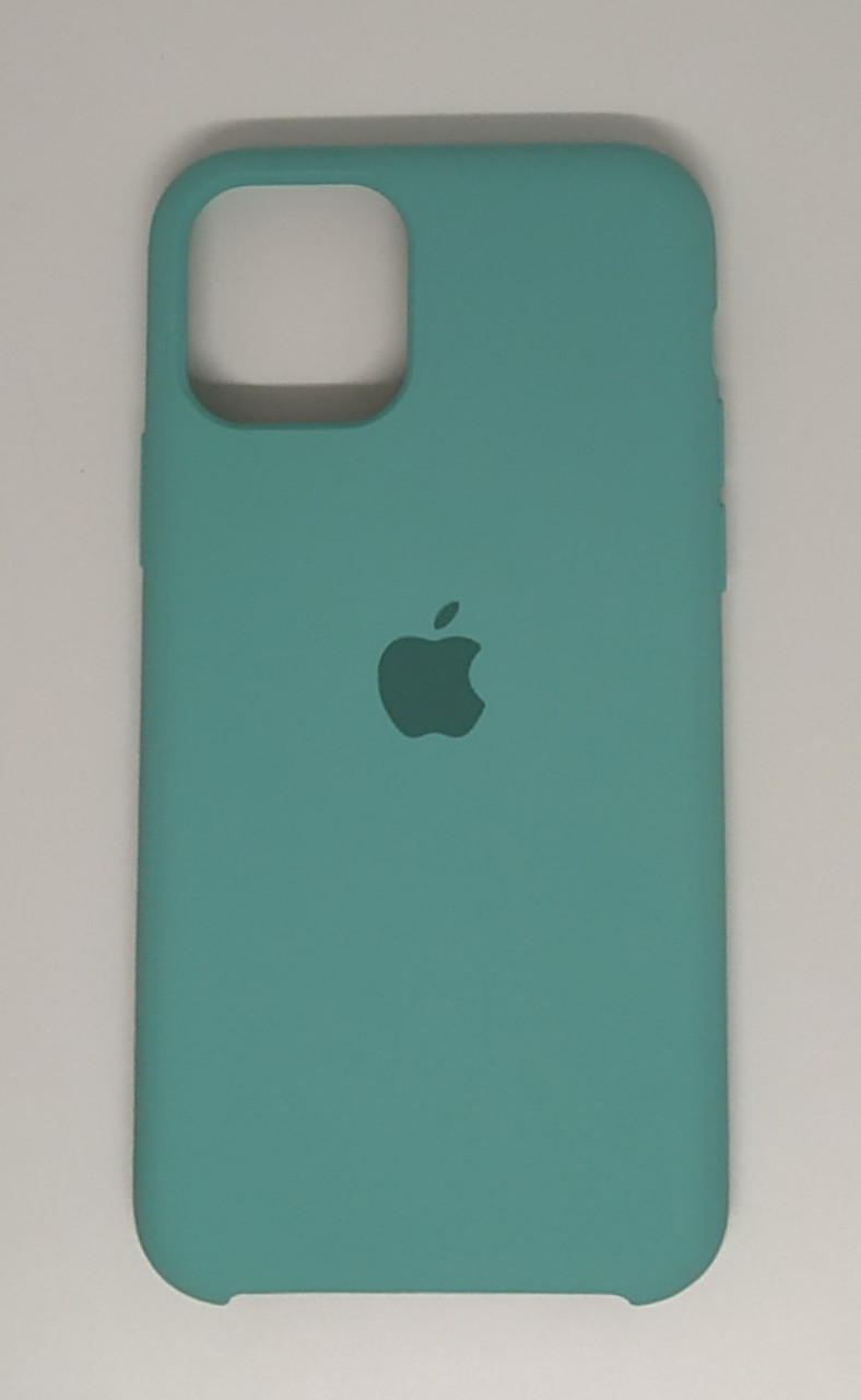"Чехол Silicon iPhone 11 - ""Зеленая лагуна №21"""