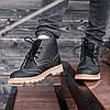 """Зимние ботинки мужские с мехом South Rebel """"Черные"""", фото 2"""