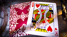 Карты игральные | Butterfly Playing Cards Marked (Red) 2nd Edition, фото 3