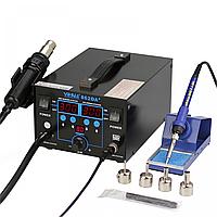 Термовоздушная паяльная станция YIHUA 862DA+ термофен и паяльник 2в1