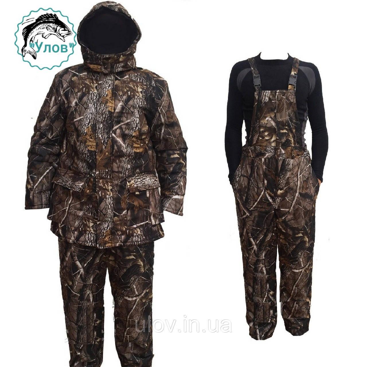 """Зимний костюм для охоты и рыбалки из не промокаемой ткани ALOVA """"Осенний Лес"""""""
