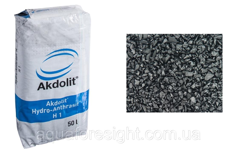 Гідроантрацит Akdolit N (0.8-1.6 мм) (50 л/мішок)