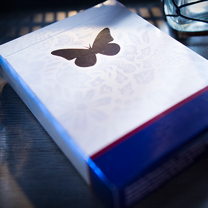 Карты игральные | Butterfly Playing Cards Marked (Blue) 2nd Edition