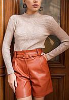 Женская кофта бежевого цвета. Модель 23493. Размер 42/44, фото 1