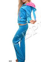 Велюровый костюм-зайка Gepur 993