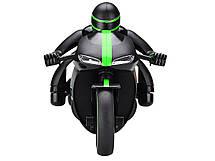 Радіокерований Мотоцикл 1:12 Crazon 333-MT01 (зелений), фото 2