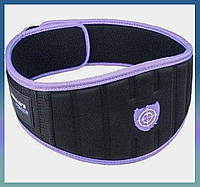 Пояс неопреновый для тяжелой атлетики Woman's Power PS-3210 XS Purple