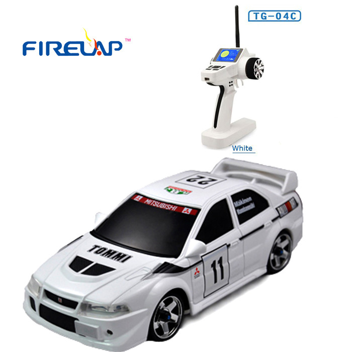 Автомодель р/у 1:28 Firelap IW04M Mitsubishi EVO 4WD (білий)
