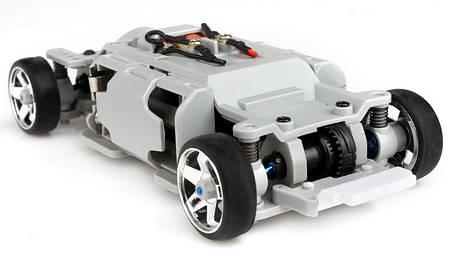 Автомодель р/у 1:28 Firelap IW04M Mclaren 4WD (карбон), фото 2