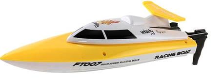 Катер на радиоуправлении Fei Lun FT007 Racing Boat (желтый), фото 2
