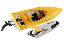 Катер на радиоуправлении Fei Lun FT007 Racing Boat (желтый), фото 3