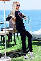 Женский велюровый костюм Gepur 12883