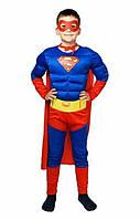 Костюм Супермена с мышцами 1-9 лет (С, М, Л)