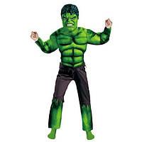 Карнавальный костюм Халкас мышцами для мальчика 1-9 лет (С, М, Л), без маски