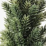 ИКЕА ВИНТЕРФЕСТ Искусственное растение и кашпо, рождественская елка, 6 см, фото 3