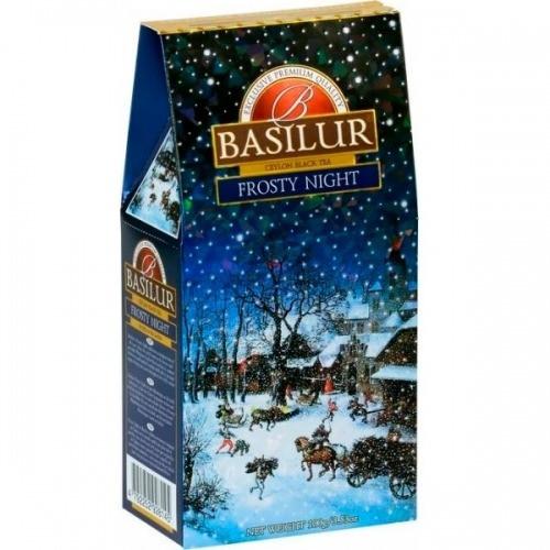 Черный чай Basilur Морозная ночь картон 100 г