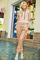 Оригинальный гипюровый костюм Gepur 13168