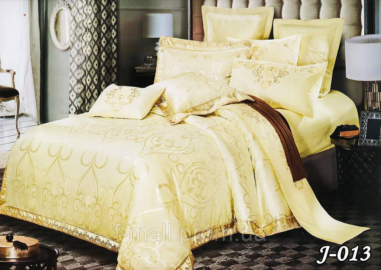 Комплект постельного белья из жаккарда  ТМ Тет-А-Тет (Украина)  Евро  (J-013)