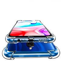 Противоударный силиконовый чехол Shock Xiaomi Redmi 8 Прозрачный